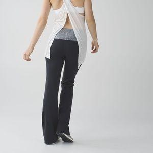 Lululemon Groove Pant Dottie Dash Wide Leg 8